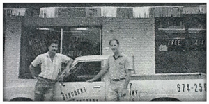 discount battery co-founders steve and gary